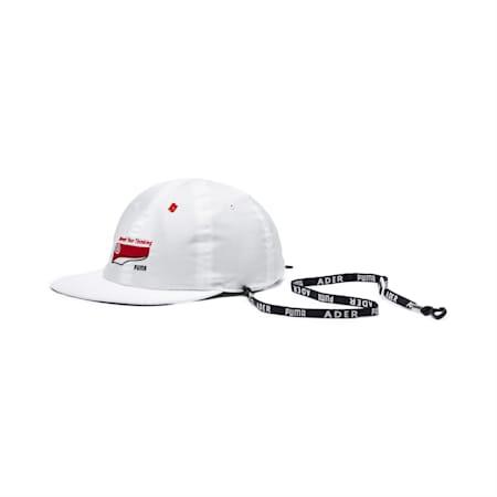 PUMA x ADER ERROR REVERSIBLE CAP, Puma White-Peacoat(inside), small-JPN