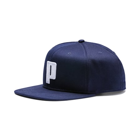 "Colour Block ""P"" Cap, Peacoat-Puma White, small-SEA"