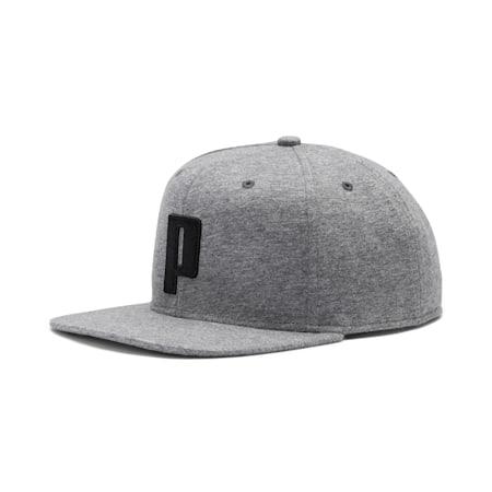 Color Block P Cap, Medium Gray Heather-Black, small