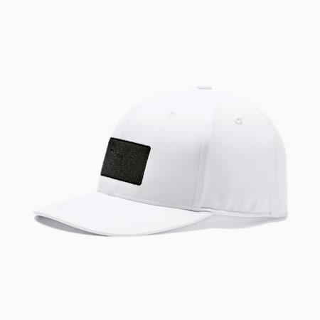 ゴルフ パッチ 110 スナップバック キャップ, Bright White, small-JPN