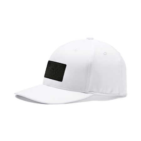 Utility Patch 110 Snapback, Bright White, small