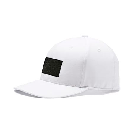 Utility Patch 110 Men's Golf Cap, Bright White, small-SEA