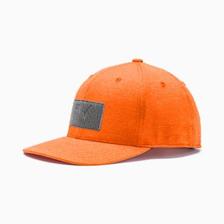 ゴルフ パッチ 110 スナップバック キャップ, Vibrant Orange, small-JPN