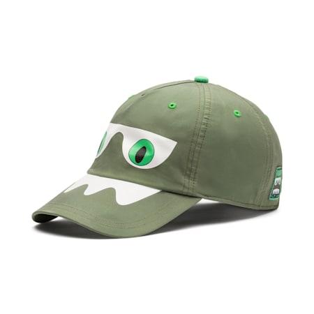 Monster Kids' Baseball Cap, Olivine, small-SEA