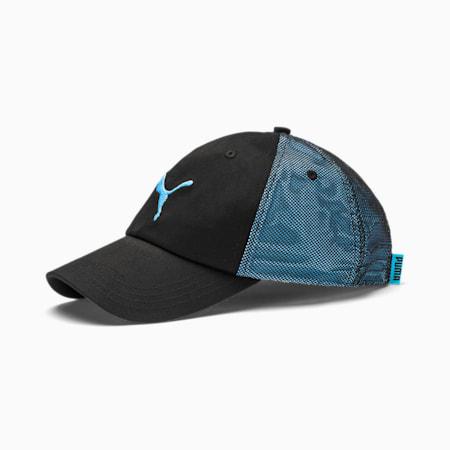 ftblNXT Cap, Puma Black-Luminous Blue, small-IND