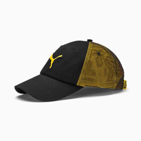 ftblNXT Cap, Puma Black-ULTRA YELLOW, small