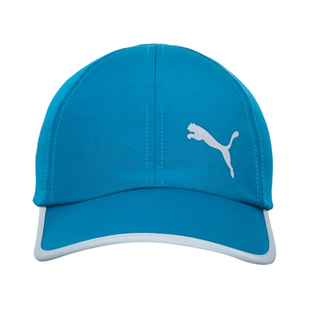Essentials Reflective Logo Running Cap, Digi-blue-Cat, small-IND
