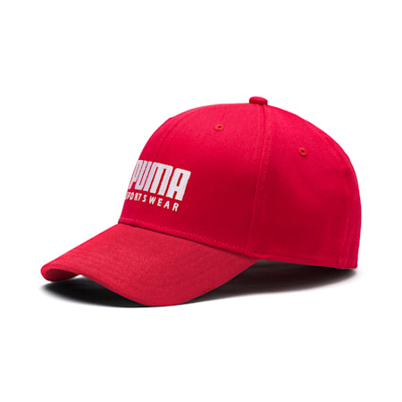 Stretch-fit Baseball Cap, High Risk Red, small-SEA