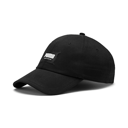 Style Fabric Cap, Puma Black, small