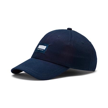 Style Fabric Cap, Peacoat, small-SEA