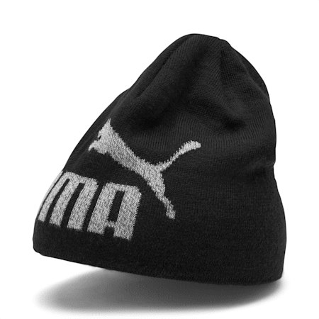 Essentials Logo Kids' Beanie, Puma Black-NO 1, small-IND