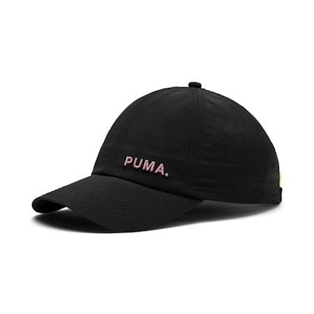 Women's Shift Cap, Puma Black-Bridal Rose, small