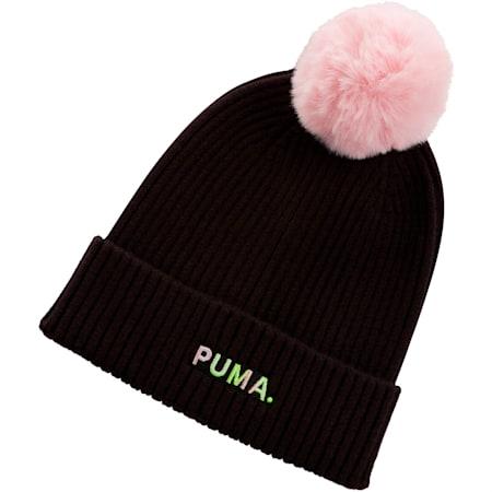 Gorro de lana Shift para mujer, Puma Black-Bridal Rose, pequeño