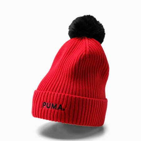 Evolution Shift Women's Beanie, Nrgy Rose-Puma Black, small-IND