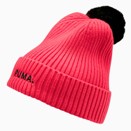 Shift Women's Beanie, Nrgy Rose-Puma Black, small
