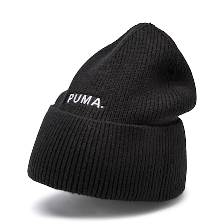 Hybrid Fit Women's Beanie, Puma Black, small-SEA