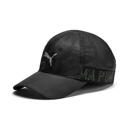 Performance Stretchfit Running Cap, Puma Black, small-IND