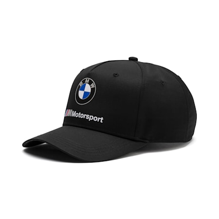 BMW M Motorsport Baseball Cap, Puma Black, small