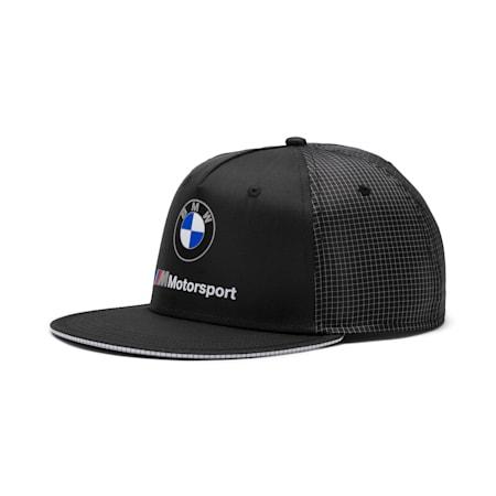 Czapka bejsbolowa z plaskim daszkiem BMW M Motorsport, Puma Black, small