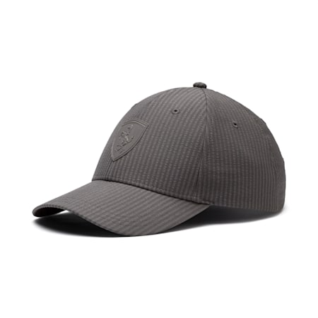 Scuderia Ferrari Lifestyle Baseball Cap, Charcoal Gray, small