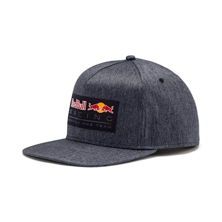 Red Bull Racing Lifestyle Flat Brim Cap, NIGHT SKY, small-IND
