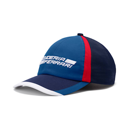 Ferrari Fanwear Cap, Galaxy Blue-Rosso Corsa, small