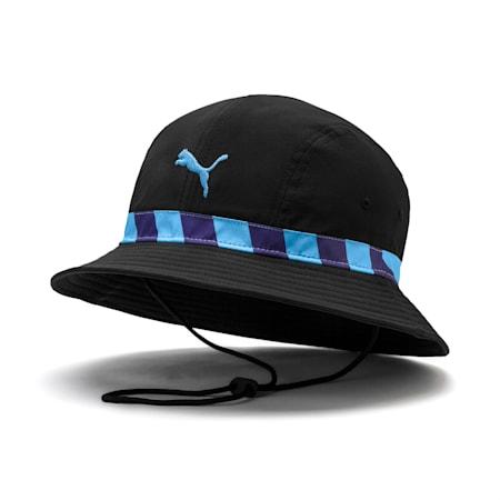Man City Football Culture Hat, Puma Black-Team Light Blue, small