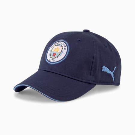Manchester City Unisex Team Cap, Peacoat-Team Light Blue, small-IND