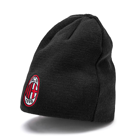 AC Milan Reversible Beanie, Tango Red -Puma Black, small
