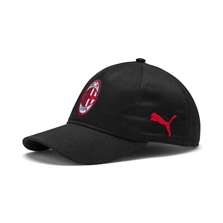 AC Milan Training Cap, Puma Black-Tango Red, small-SEA