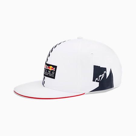 Red Bull Racing Lifestyle Flatbrim Cap, Puma White, small