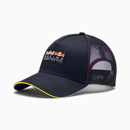 Red Bull Racing Trucker Baseball Cap, NIGHT SKY, small-SEA