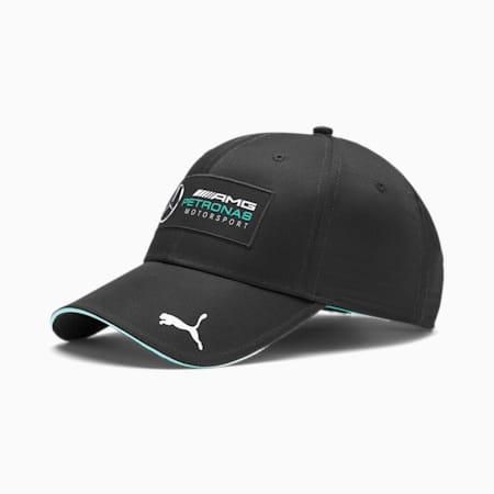 Mercedes Silver Arrows Baseball  Unisex Cap, Puma Black, small-IND
