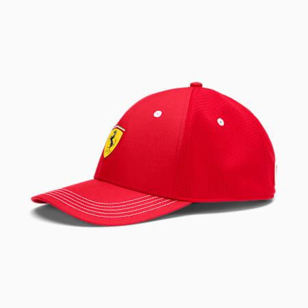 Scuderia Ferrari Fanwear Baseball Cap, Rosso Corsa, small-SEA