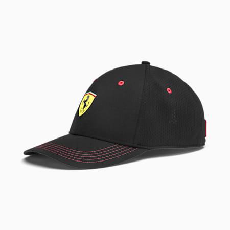 Scuderia Ferrari Fanwear Baseball Cap, Puma Black, small-SEA