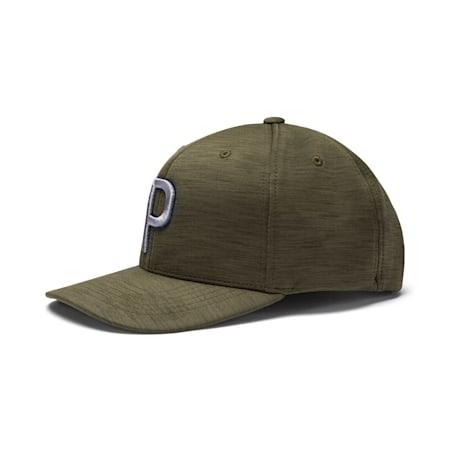 ゴルフ P 110 スナップバック キャップ, Deep Lichen Green, small-JPN