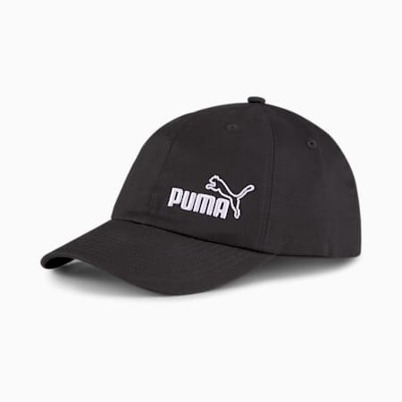 Essentials Cap II, Puma Black-No 1, small-SEA