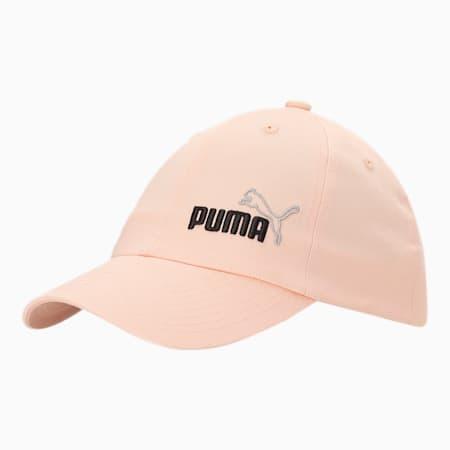 Essentials Unisex Cap II, Peach Parfait-No 1, small-IND