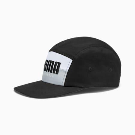 Sportswear Five-Panel Cap, Puma Black-High Rise, small-SEA