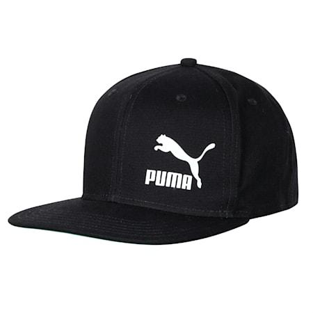 LS ColourBlock Cap, Puma Black-Puma White, small-IND