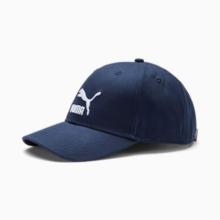 Archive Logo Baseball Cap, Peacoat, small-SEA