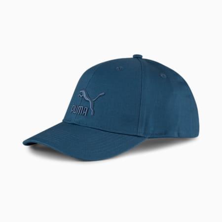Casquette de baseball à logo Archive, Bleu intense, petit
