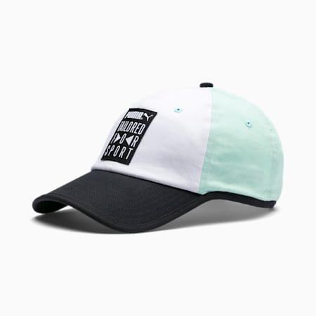 Classics Tailored for Sport Baseball Cap, Puma White-Mist Green, small