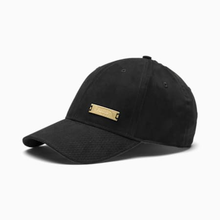 Classics Suede Baseball Cap, Puma Black, small-SEA