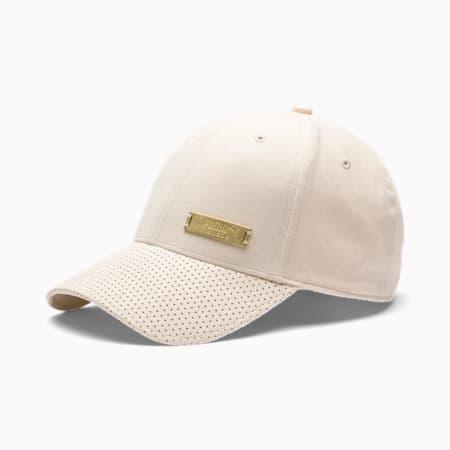 Classics Suede Baseball Cap, Tapioca, small-SEA