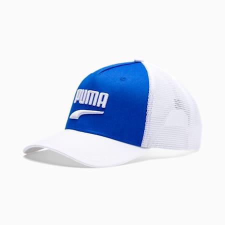 Classics Basketball Trucker Cap, Palace Blue-Puma White, small-SEA