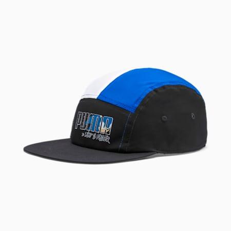 PUMA x SONIC Kids' Cap, Puma Black-Palace Blue, small