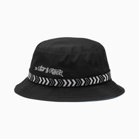 PUMA x SEGA Kids' Bucket Hat, Puma Black, small-SEA