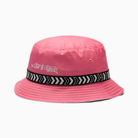 PUMA x SEGA Kids' Bucket Hat, Bubblegum, small-SEA