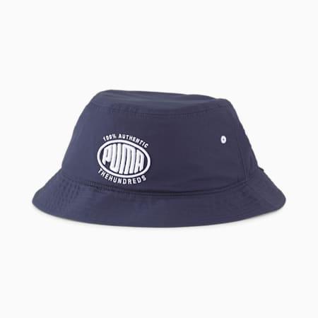 PUMA x THE HUNDREDS Bucket Hat, Peacoat, small